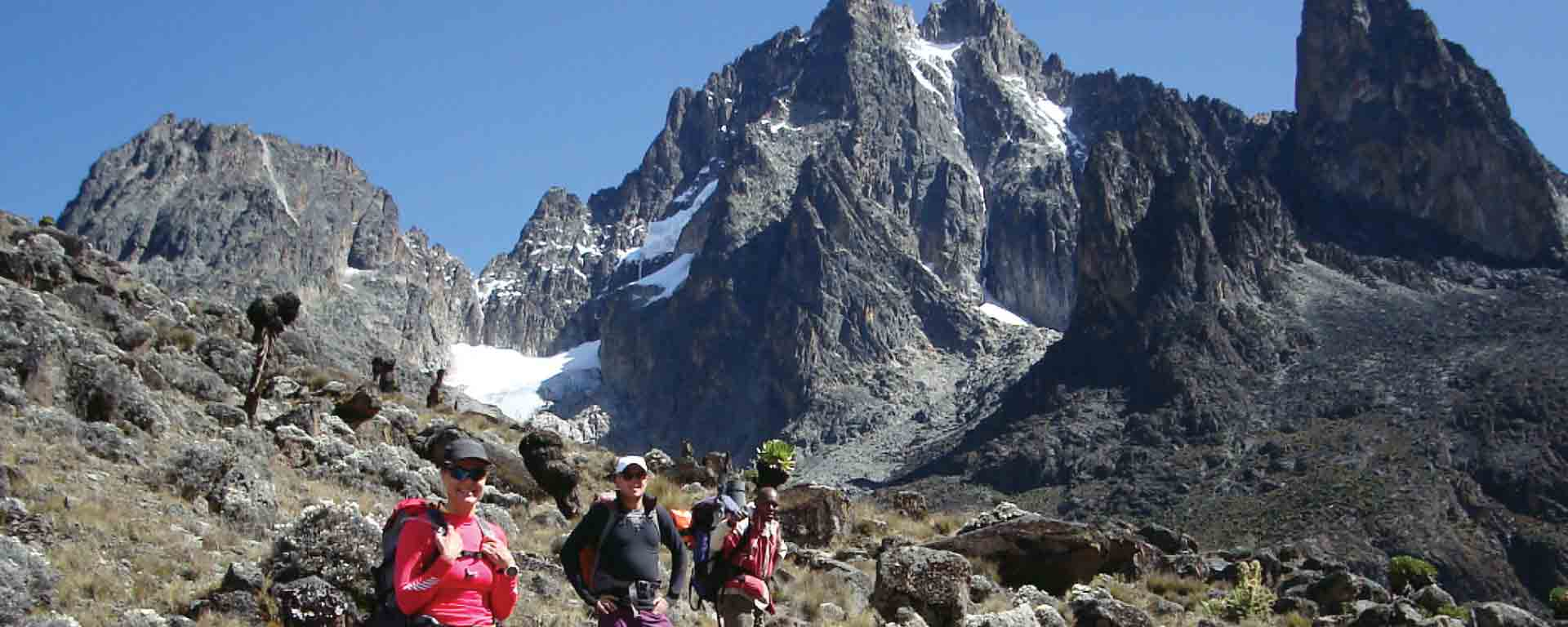 5 days Mount Kenya Sirimon Route Out Chogoria