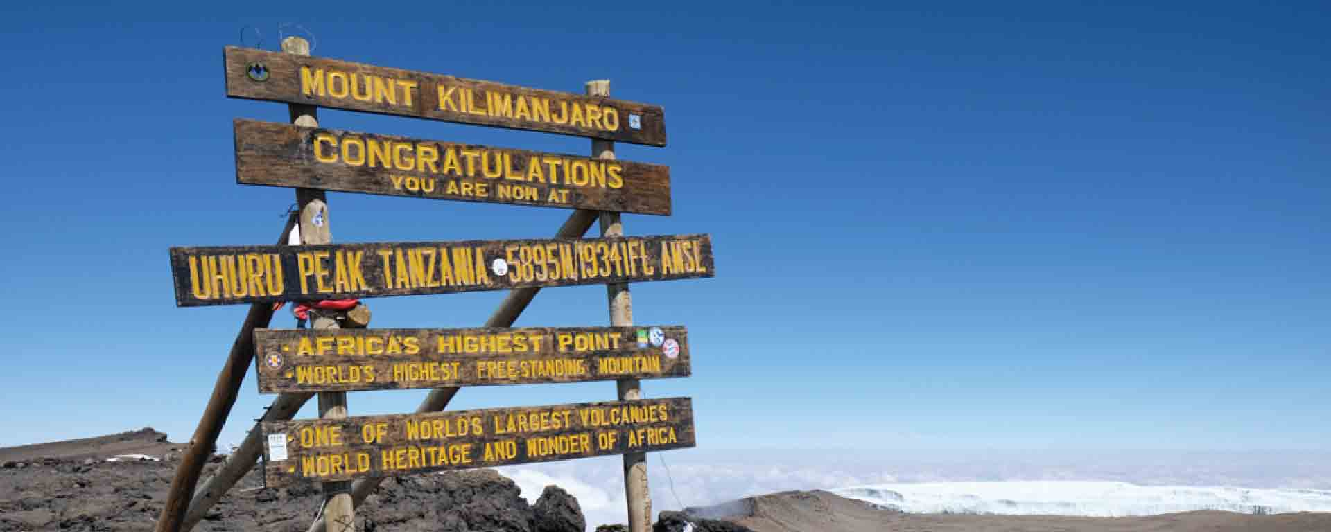 Mount Kilimanjaro Climbing Expeditions