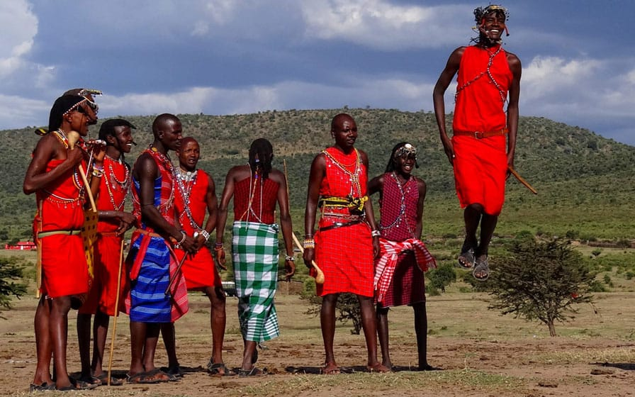 masai mara cultural dances courtesy of Asili Adventures safaris