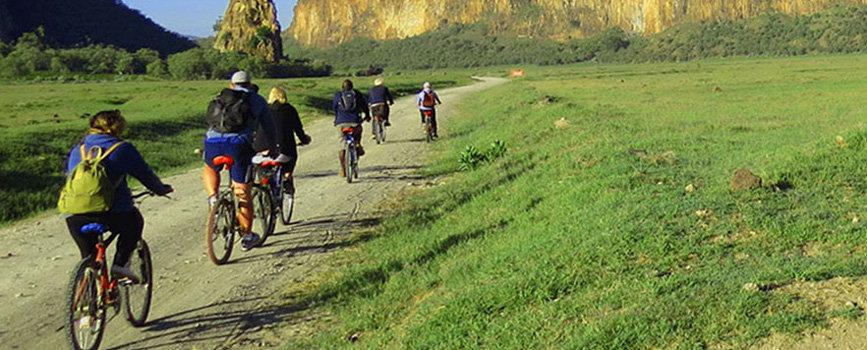 hells gate naivasha cycling and trekking adventure while on Kenya wildlife safari