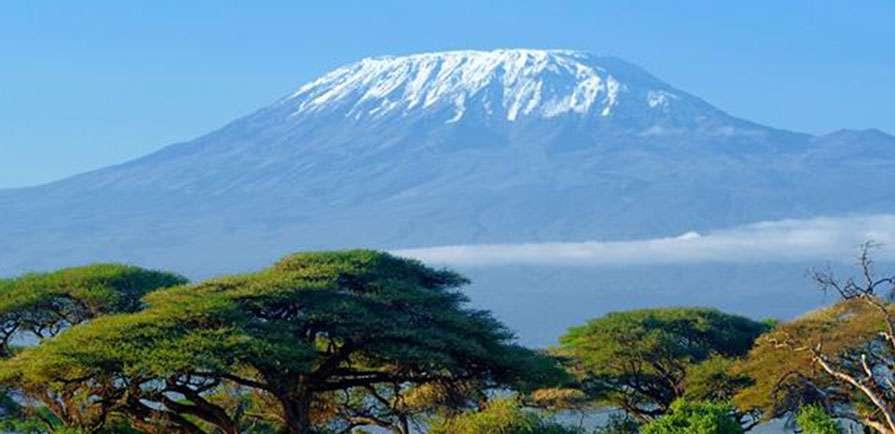 views of Mt.kilimanjaro from Amboseli National Park