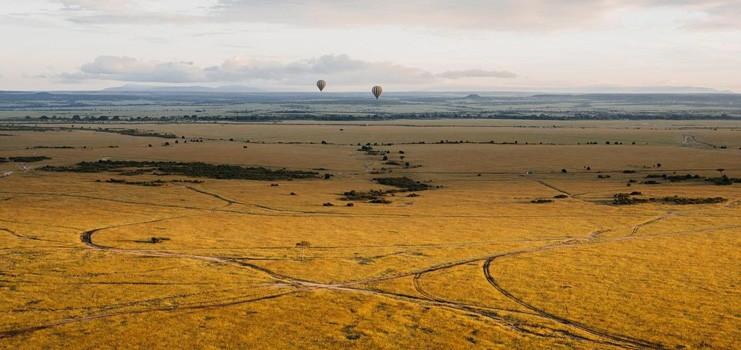 Balloon safaris in Masai Mara