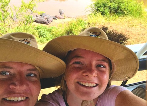 clients on our combined Kenya and Tanzania safari