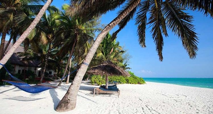 Kenya beach holiday vacation
