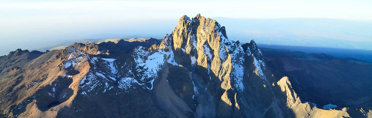 mt. kenya climbing safari expeditions, mountain trekking
